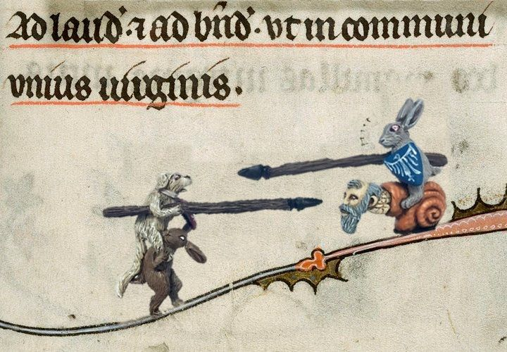 Jousting Animals